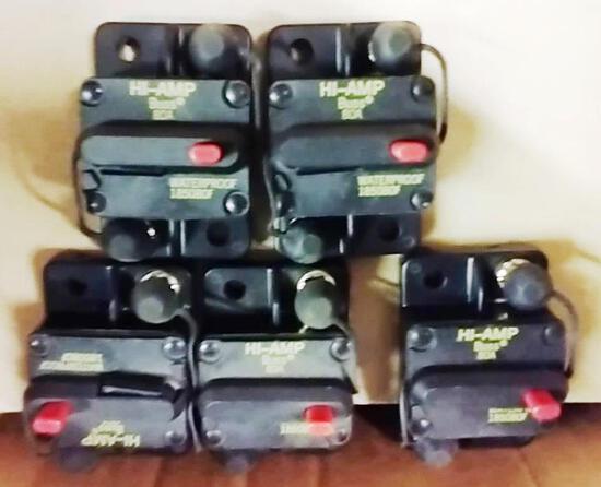 35 NEW EATON HI-AMP CIRCUIT BREAKERS