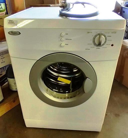 WHIRLPOOL ELECTRIC DRYER FOR PARTS OR REPAIR