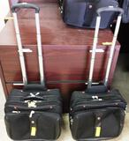 2 WENGER 2-WHEELED NOTEBOOK BAGS