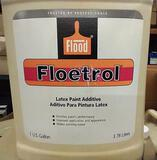 21 BOXES OF 4 GALLONS EACH FLOETROL LATEX PAINT ADDITIVE