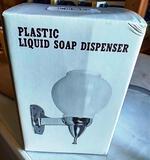 96 NEW O1-PL1050 PLASTIC LIQUID SOAP DISPENSERS