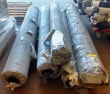 5 ROLLS OF NEW 2TEC2 HIGH TECH WOVEN VINYL FLOORING - OYSTER