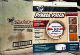 4 BOXES OF DAP PRESTO PATCH - 12 PER BOX