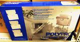 LOT OF 54 NEW POLYPRO LARGE WALL POCKETS - SET OF 3