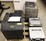 LOT OF 5 PRINTERS - HP, DELL, CANON AND BROTHER