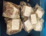8 NEW KRALOY ROUND DUPLEX RECEPTACLE FLOOR BOXES