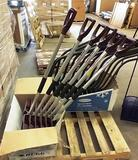 LOT OF 6 NEW RUGG LITE WATE SNOW SHOVELS / DUST PANS