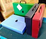 12 NEW DURA-PLAST LEGAL SIZE BRIEFCASES / ORGANIZERS