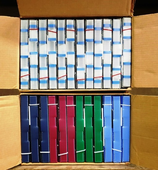 24 NEW PROJECT FOLDERS - 2 BOXES OF 12 EACH