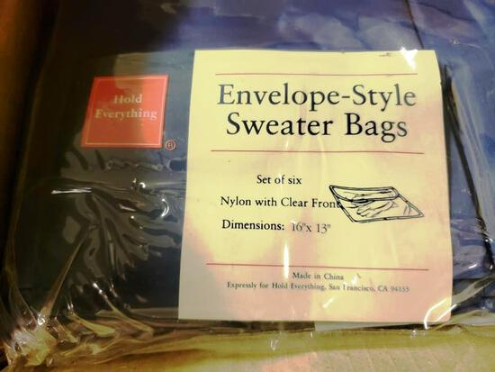 """4 BOXES OF NEW """"HOLD EVERYTHING"""" ENVELOPE STYLE SWEATER"""