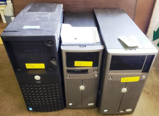 LOT OF LARGE DELL COMPUTERS / SERVERS