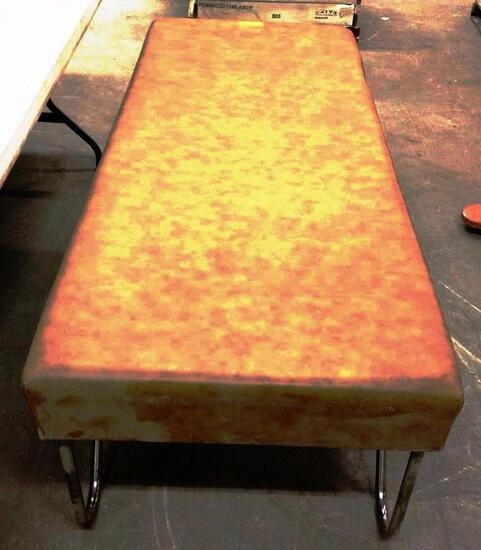 PROFEX TREATMENT TABLE - FAUX LEATHER COVERED WOOD TOP