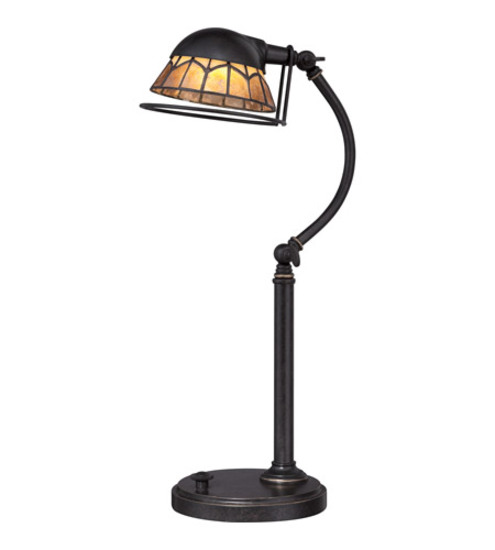 1 NEW QUOIZEL VIVID WHITNEY LED TABLE LAMP VVWH6220IBC LED LIGHT FIXTURE