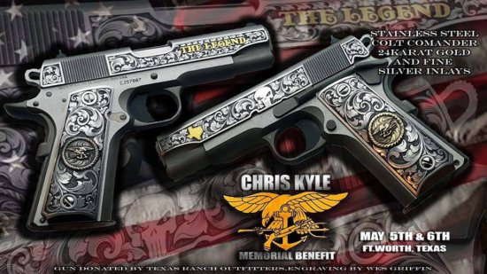 Hand Engraved Colt 1911 45acp Pistol
