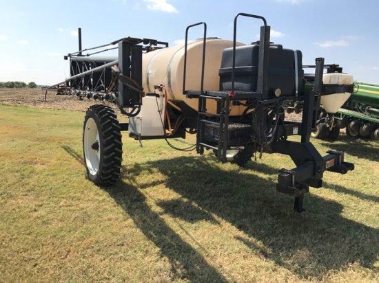 Wylie 1200 Gallon Folding Spray Rig