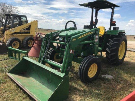 John Deere 5065 2wd Tractor, Open Station