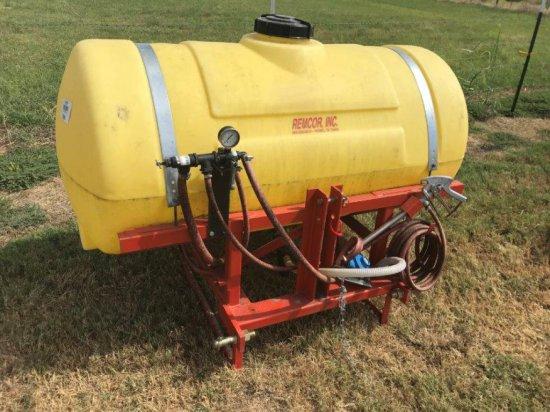Remcor, Inc 200gal Spray Rig w/Nozzle