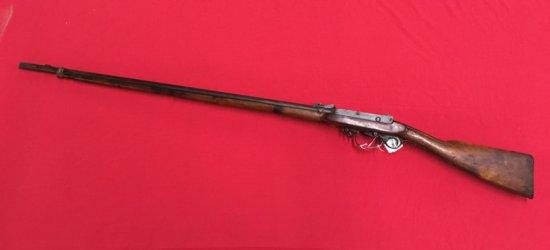 ANTIQUE Danish 466 Under Hammer Rifle