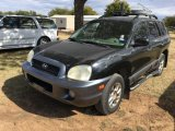 *2004 Black Hyundai Sante Fe