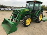 John Deere 5083E 4wd Tractor w/553 Loader