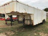 *Pioneer 8' x 20' GNeck Cargo Trailer Farm Regist.