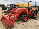 Kubota 5740 4wd Tractor w/LA854 Loader