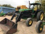 John Deere 2955 2wd Tractor w/Koyker Loader