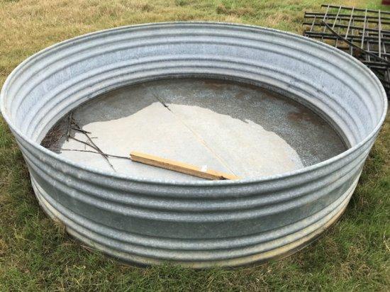 Large Round Water Trough