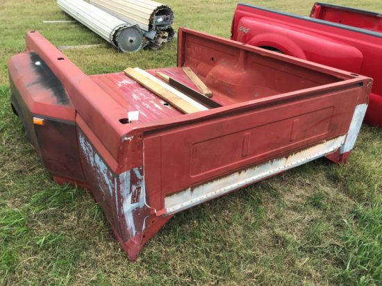 Ford Dually Bed, Red, 80's Model