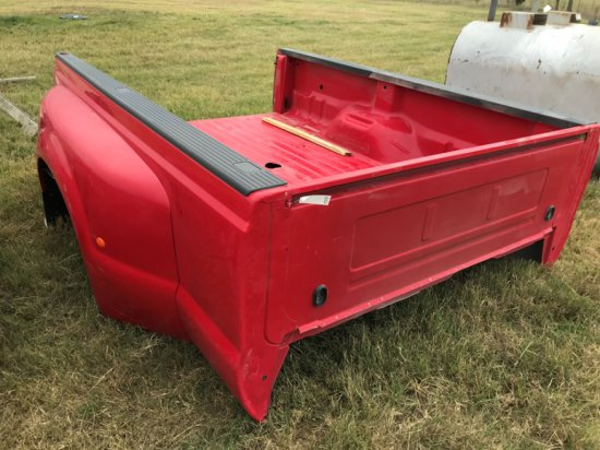 Ford Dually Bed, Red, 2000's Model