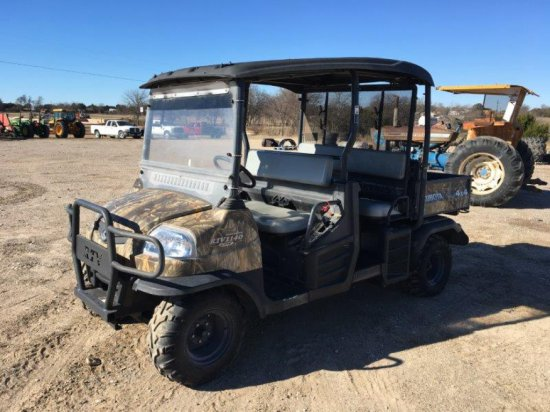 4x4 Kubota RTC1140 CPS Diesel ATV