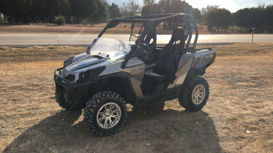 Can Am Commander XT 4x4