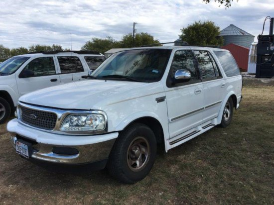 *1997 White Ford Expedition XLT