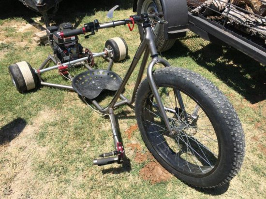 Drift Trike w/Predator 212cc Gas Engine