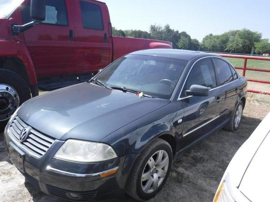 *2002 Volkswagon Passat PGX