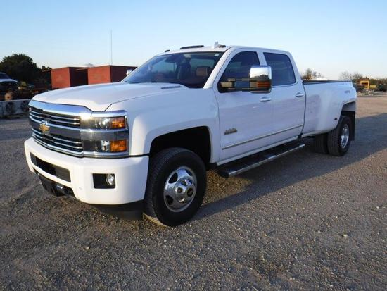 *2016 Chevy 3500 High Country 4x4