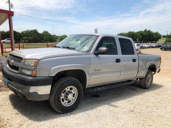 *2004 Chevrolet 2500hd 4x4 Duramax Diesel