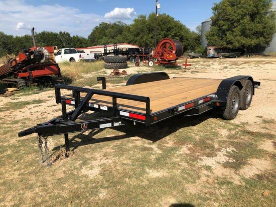 "*2019 J&C 83""x16' Car Hauler"
