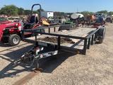 *20' Load Trail Utility Trailer bumper pull