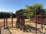 Entire Working Cattle Pen W/tub & palpation cage