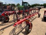 Bush Hog Hydraulic Hay Rake 12wheel