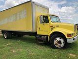 *International 4700 T444E Box Truck