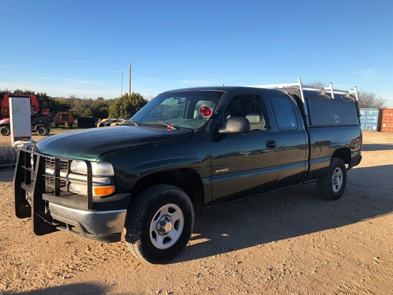 *2002 Chevy 1500 Extended Cab
