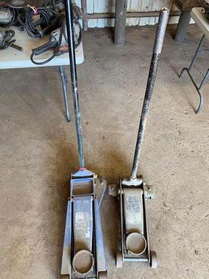 Pair of Floor Jacks