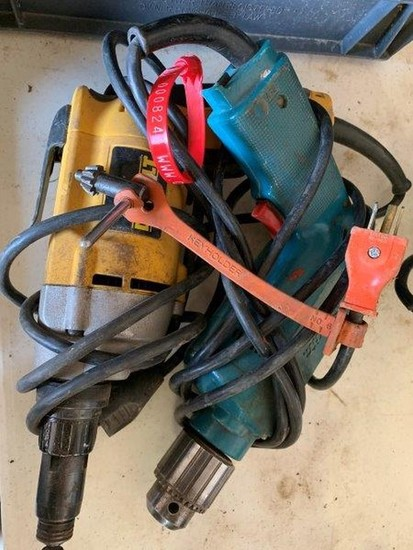 Pair of Electric Drills