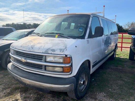 *2001 Chevrolet 3500 Utility Van