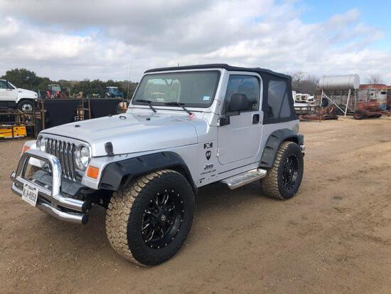 *2004 Jeep Wrangler 4x4