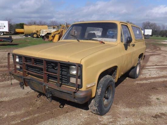 *1984 Chevrolet Blazer