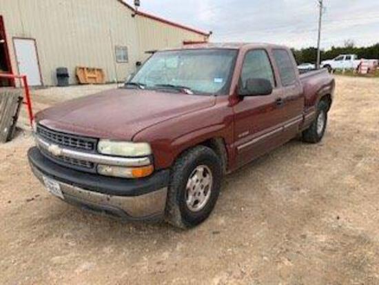 *2001 Chevrolet Silverado 1500 *salvage title*