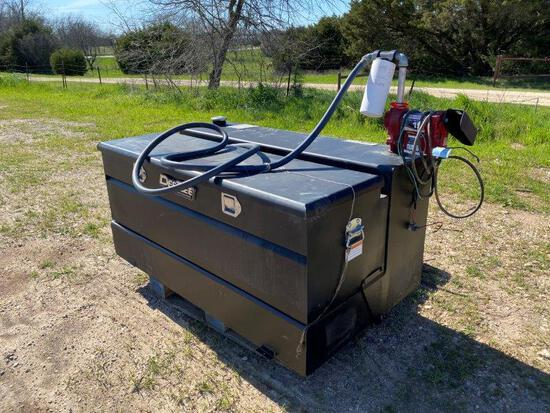 DeeZee Truck Bed Tool Box & Fuel Tank